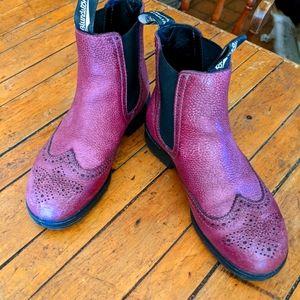 Ladies Blundstone Brogue boots, cranberry colour